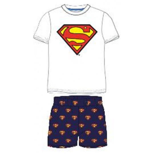 Dětské pyžamo Superman bílé 116-146