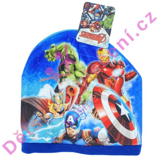 Fanouškovská zimní čepice Avengers