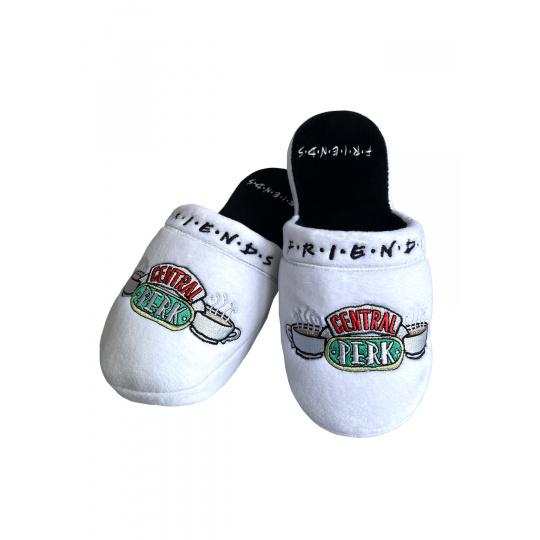 Pantofle Friends | Přátelé bílé Central Perk