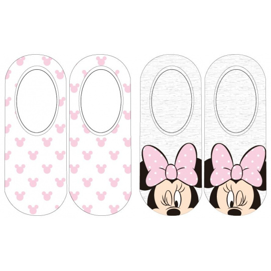 Dětské ponožky do balerín dívčí Minnie 2ks 31-38