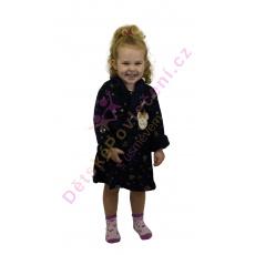 Heboučký dětský župan Disney Minnie tmavě modrý 3-8let