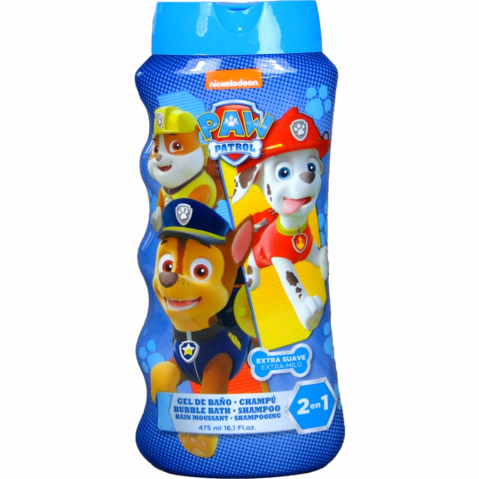 Dětský šampon a koupelová pěna 2v1  Tlapková patrola