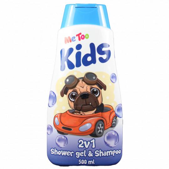 Me Too Sprchový gel + šampon 2v1 Auto s pejskem