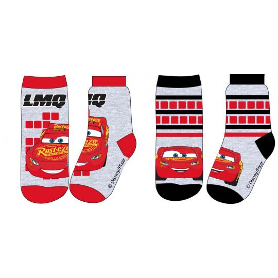 Dětské ponožky Auta šedé 23-34