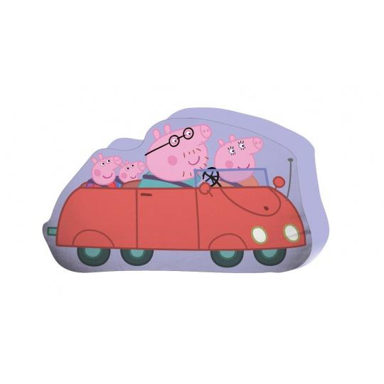 Tvarovaný polštářek Peppa Pig