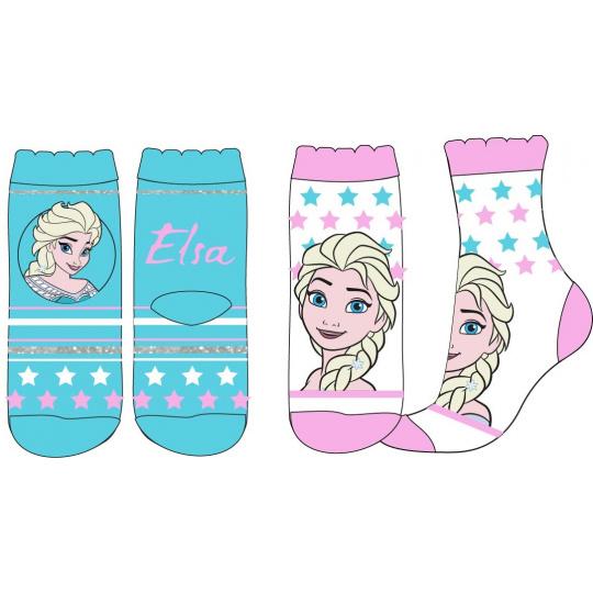 Dětské ponožky Ledové Království hvězda 2ks 23-34