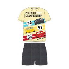 Dětské pyžamo Auta žluté 98-128