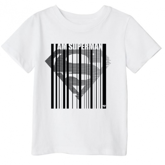 Chlapecké triko Superman bílé 134-164