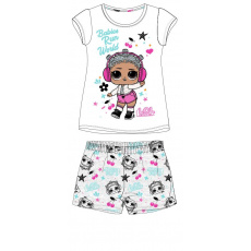 Dětské pyžamo L.O.L. bílé 98-128