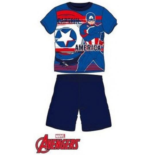 Dětské pyžamo Captain America modré 4A/10A