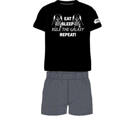 Pánské pyžamo Star Wars černé  M-XL