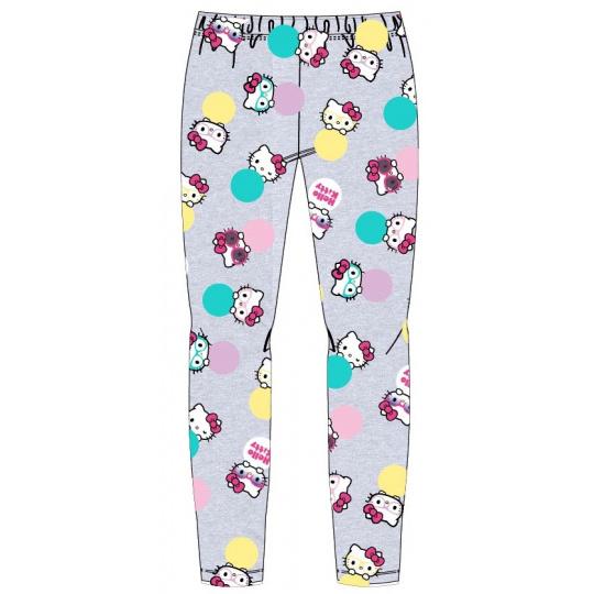 Dívčí legíny Hello Kitty šedé 98-128