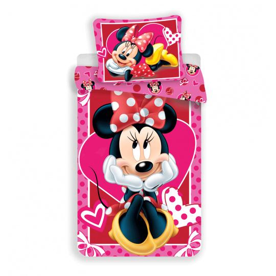 Dětské povlečení Disney Minnie srdce