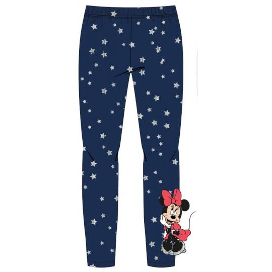 Dívčí legíny Minnie modré hvězda 104-134
