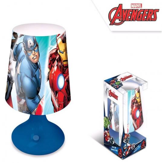 Dětská stolní lampička Avengers blue