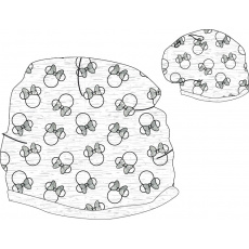 Jarní čepice Minnie 52-54