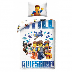 Dětské povlečení Lego Awesome