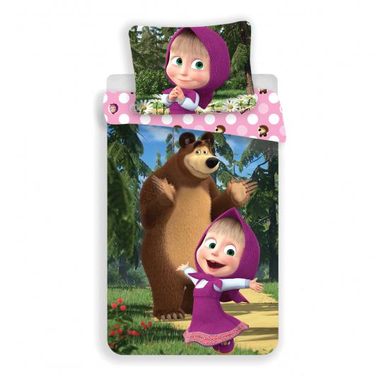 Dětské povlečení Máša a Medvěd 051