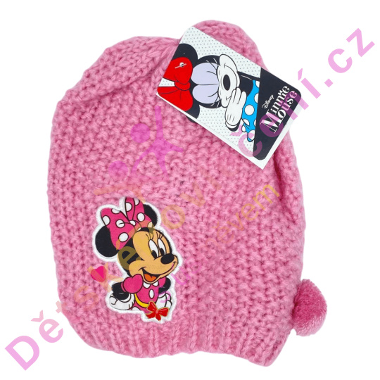 Pletená zimní čepice Disney