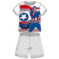 Dětské pyžamo Captain America bílá 4A/10A
