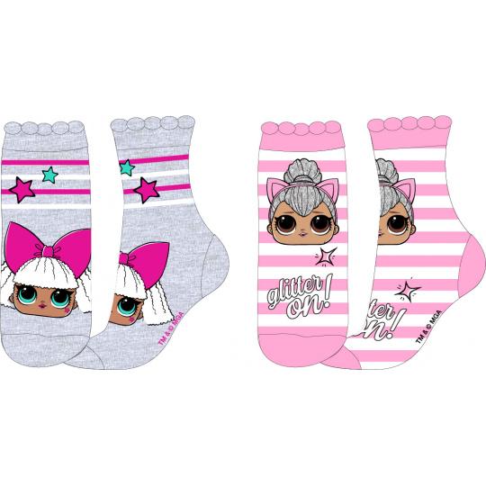 Dětské ponožky L.O.L. mix 2ks 23-34