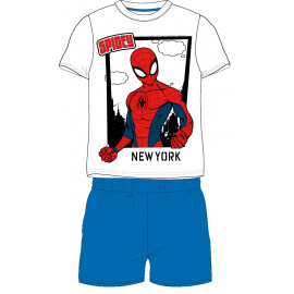Dětské pyžamo Spider-man bílé 98-128