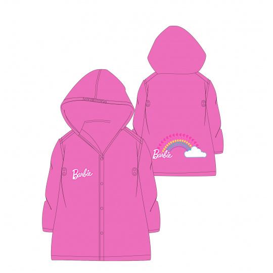 Dětská dívčí pláštěnka Barbie růžová 98-128