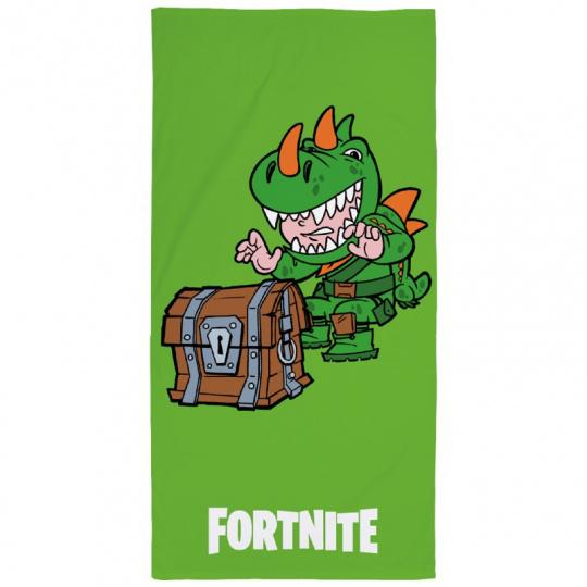 Bavlněná osuška Fortnite - Green