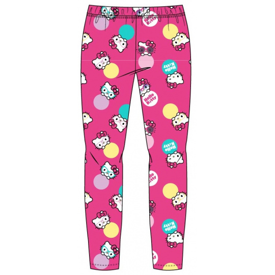 Dívčí legíny Hello Kitty růžové 98-128