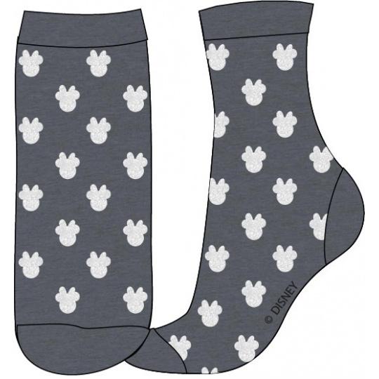 Dětské ponožky Minnie šedé 31-38