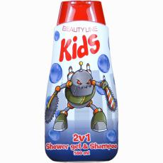 Beauty Line Sprchový gel + šampon 2v1 Robot