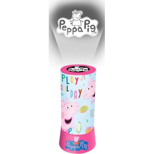Nádherná lampička a projektor 2 v 1 Peppa Pig světlá
