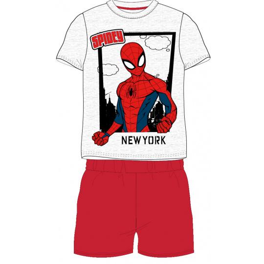 Dětské pyžamo Spider-man šedé 98-128