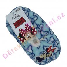 Hřejivé papučky Minnie a Mickey