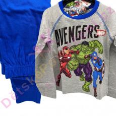 Pyžamo Avengers Marvel šedé