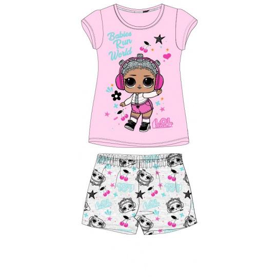 Dětské pyžamo L.O.L. růžové 98-128