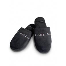 Pantofle Friends | Přátelé black Mule