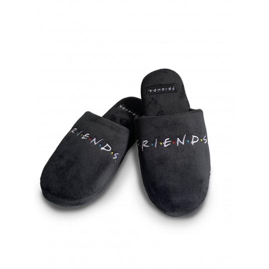 Pantofle Friends   Přátelé black Mule