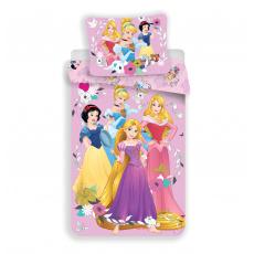 Dětské povlečení Princezny pink