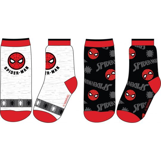 Dětské ponožky Spider-man mix.2ks 23-34