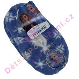 Dívčí papuče Ledové království vločky