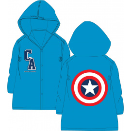 Dětská pláštěnka Avengers Captain America 98-128