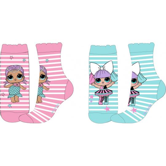 Dětské ponožky L.O.L MD mix.2ks 23-34