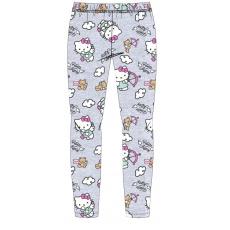 Dívčí legíny Hello Kitty anděl šedé 98-128